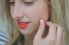 just bought this lip colour and loving it, a perfect summer shade