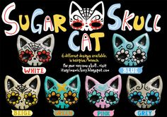 Love Kuching Project @luvkuching by The Water Dish - kitten adoption, rescue, TNR: Buy a Sugar Cat Skull kitty accessory to support our cause!