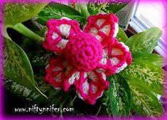 Funky Flower #2 by Jennifer Gregory