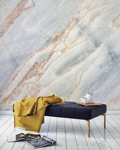 Marble wallpaper @designmilk