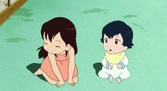"""Wolf Children::The theme of the film is the love between parents and children. The story covers 13 years and begins with a 19-year-old college student named Hana who encounters and falls in """"fairy tale-like"""" love with a """"wolf man."""" After marrying the wolf man, Hana gives birth and raises two wolf children—an older sister named Yuki who was born on a snowy day, and a younger brother named Ame who was born on a rainy day. The four quietly lived in a corner of a city to conceal her children."""