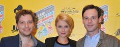 Monsters - Scoot McNairy, Whitney Able and Gareth Edwards at the SXSW Festival