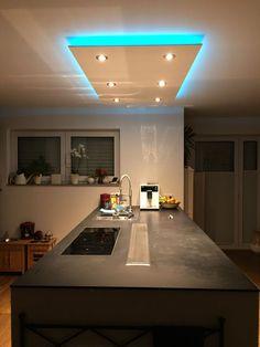 led deckenbeleuchtung küche led leisten abgehängte decke | Ideen ...