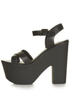 LAUNCH Platform Sandals