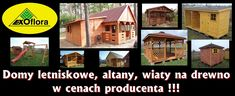 domy letniskowe Exo, Flora, Cabin, House Styles, Home Decor, Decoration Home, Room Decor, Cabins, Plants