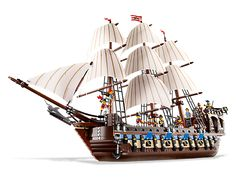 Build an incredible classic sailing ship!