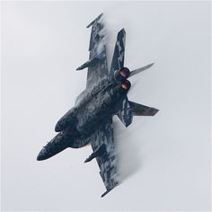 U.S. Navy F/A-18 Super Hornet showing off its maneuver and sweet digital camo scheme! - Help Us Salute Our Veterans by supporting their businesses at www.VeteransDirectory.com, Post Jobs and Hire Veterans VIA www.HireAVeteran.com Repin and Link URLs