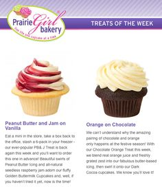 Check out this weeks Trick-or-Treats of the Week! They're sure to impress guests at your Hallowe'en party.