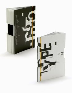 typographic brochure