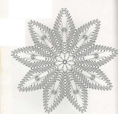 Bobbin Lace Patterns, Lacemaking, Needle Lace, Crochet Doilies, Album, How To Make, Handmade, Diy, Snowflakes