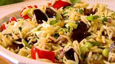 Orzo with Roasted Vegetables Recipe : Ina Garten : Food Network