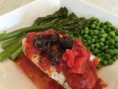 Mediterranean Cod - Powered by Seaweed Salad, Cod, Ethnic Recipes, Cod Fish, Atlantic Cod