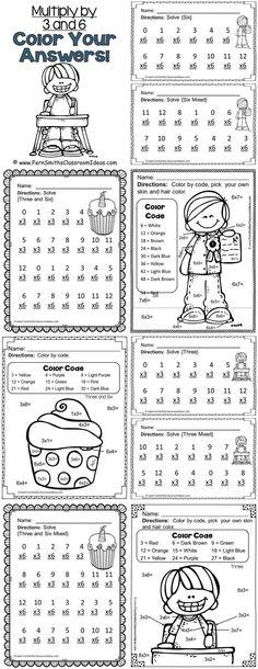 FREE Multiplication Worksheet Enjoy this adorable multiplication