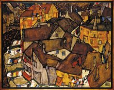 File:Egon Schiele - Krumau - Crescent of Houses (The small City V) - Google Art Project.jpg