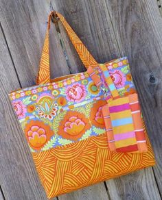 Sunshiney Day Tote & Zip Pouch