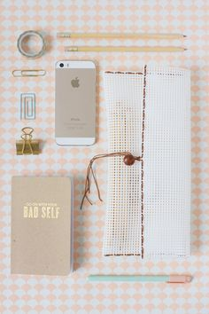 A super simple DIY woven pencil pouch for back to school! #MichaelsMakers
