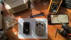 STelectroniX overdrive and fuzzy distortion