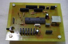 Entrenador para PIC 18F2550 - NeoTeo Microcontrolador Pic, Pic Microcontroller, 8 Bits, Arduino, Music, Atelier, Training, Hipster Stuff, Musica