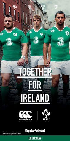 New Ireland replica #Ireland #Rugby #IrishRugby