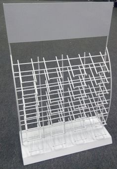 wire display for different color ceramite tile