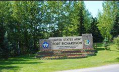 Fort Richardson, Alaska.  Had a blast here.  First Duty station, met my husband, had twins, just beautiful. :)