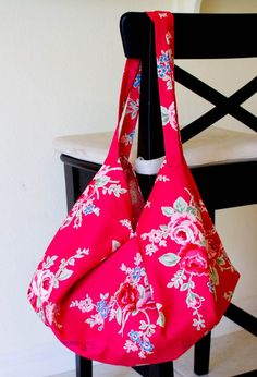 1 Yard Magic Hobo Bag from Lecien Fabrics!