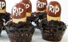 R.I.P Halloween Cupcakes