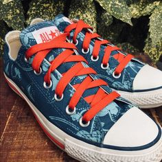 2ccc09386d14 Shop Women s Converse Blue size 7 Sneakers at a discounted price at  Poshmark.