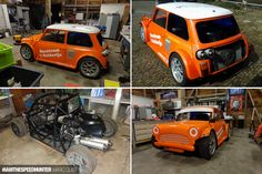 IAMTHESPEEDHUNTER: Your Bike-Powered Builds - Speedhunters Build A Bike, Power Cars, Just Go, Minis, Building, Vehicles, Sport Cars, Buildings, Car