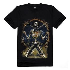 Metal Empire T-shirt 3D Print Novelty-Prisoner - FixShippingFee- - TopBuy.com.au
