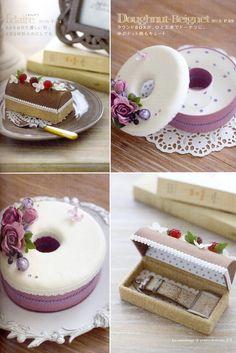 Le cartonnage de petites douceurs the Cake Box par MeMeCraftwork
