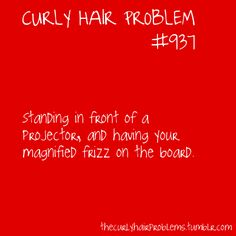 curly hair problems so true Curly Hair Tips, Wavy Hair, Curly Hair Styles, Natural Hair Styles, Funny Relatable Memes, Funny Quotes, Relatable Posts, Belleza Diy, Teacher Problems