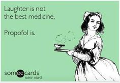 Propofol is definitely the best medicine! Nurse humor - Propofol is definitely the best medicine! Nurse humor You are in the right place about diy crafts H - Icu Nursing, Nursing Memes, Nursing Schools, Nursing Board, Funny Nursing, Anesthesia Humor, Hospital Humor, Nurse Love, Or Nurse