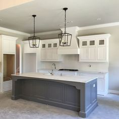 Colored Kitchen Islands Sieve Island Paint Color Is Chelsea Gray Benjamin Moore Via Park Awesome 50 Farmhouse Cabinets Decorating Ideas On A Budget Https Carribeanpic