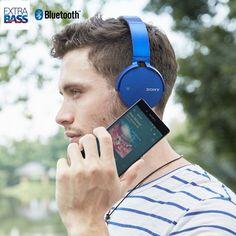 Fone de ouvido Sony XB650BT Bluetooth - R$ 500,00