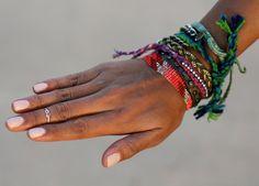 mid finger ring and bracelets