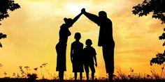 De familie Klein bestaat uit vader (Maarten), moeder (Vera) en de kinderen (Fred en Kitty).