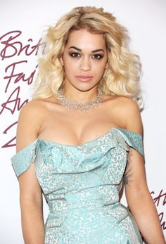 British Fashion Awards 2012 - Rita Ora