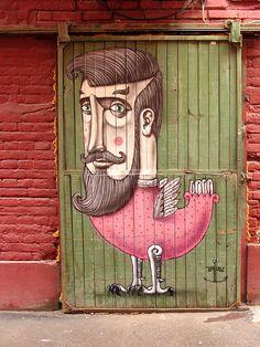 Kislow - Arte en la calle