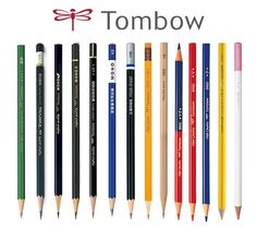 Tombow-Pencil-Product-Range Pastel Pencils, Watercolor Pencils, Colored Pencils, Derwent Pencils, Wooden Pencils, Artist Pencils, Pencil Design, Brand Guide