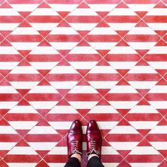 Iconosquare Instagram Facebook Yticanagement Platform Hall Tilesfloor Patternstile Patternsred Tileswhite