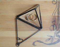 Pudełko na obrączki - GlassWoodMe - Poduszeczki na obrączki