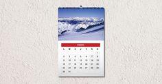 Calendario Espiral pared