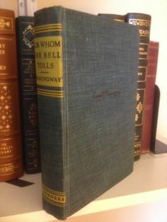 Fab find For Whom The Bell Tolls by Ernest Hemingway 1940 Early Edition Vintage BCE