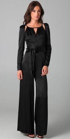 697630057d6 bigcatters.com black dressy jumpsuits (08)  jumpsuitsrompers Satin Jumpsuit