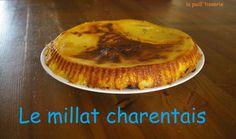 Gâteau charentais: Le Millat - Papa Tissier