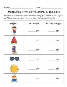 Debbie Diller's Chapter 8 Measurement