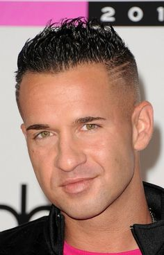"I think that Mike ""the Situation"" Sorrentino from MTV's ""Jersey Shore"" is smoking hot."