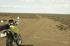 DRZ400 in the Karoo