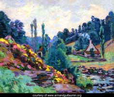 Le Moulin de Jonon Creuse - Armand Guillaumin (1841-1927)